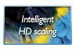 Intelligent HD resolution scaling