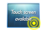 10 inch touch screen model available